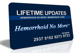 hemorrhoid No More- Updates